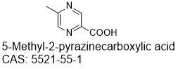 5-甲基吡嗪-2-甲酸